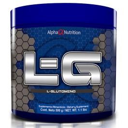 AlphaNutrition-L-Glutamina-500Gr