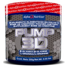 AlphaNutrition-Pump-3D-250Gr