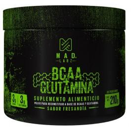 MADLabz-BCAA-+-Glutamina-210Gr