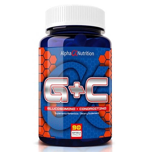 AlphaNutrition-Glucosamina-Condroitina-90Caps