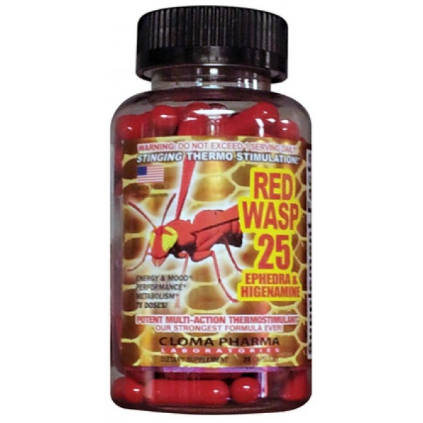 Red Wasp 75 Caps
