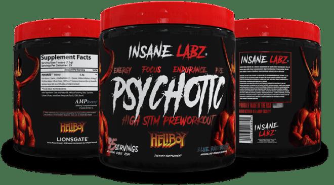 bote InsaneLabz Psychotic Hellboy