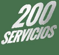 200 servicios