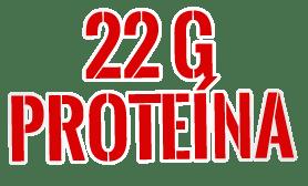 22g de proteína