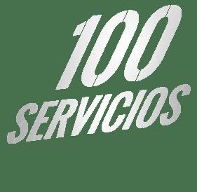 100 servicios
