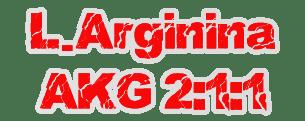 l arginina akg 2:1:1
