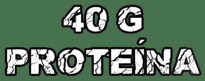 40g de proteínas