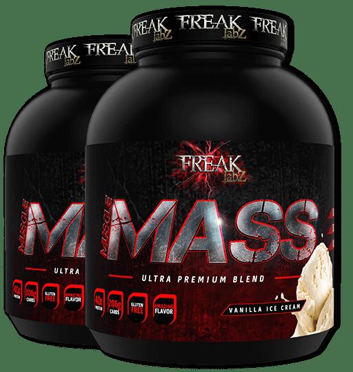 bote freak labz Muscle Mass