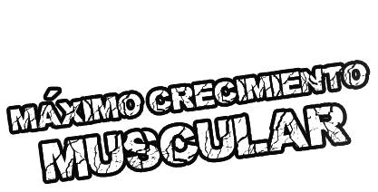 máximo crecimiento muscular