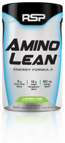 bote aminoLean by RSP Nutrition