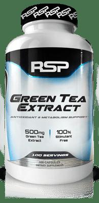 bote Green Tea Extract por RSP Nutrition