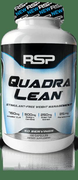 bote quadraLean stimulant free por RSP Nutrition