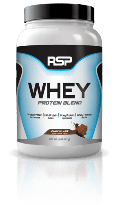 bote Whey Protein Blend por RSP Nutrition