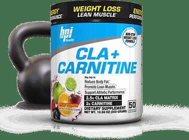 BPI Sports CLA + Carnitine bottle