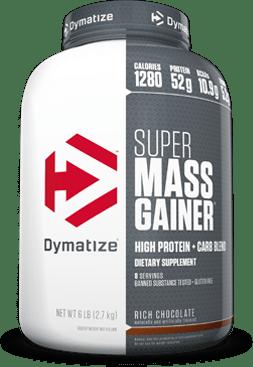 Dymatize Super Mass Gainer bottle