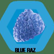 Blue Raz flavour