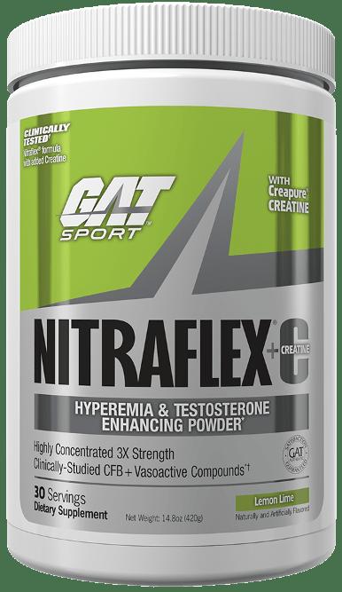 GAT NITRAFLEX + Creatina bottle shot
