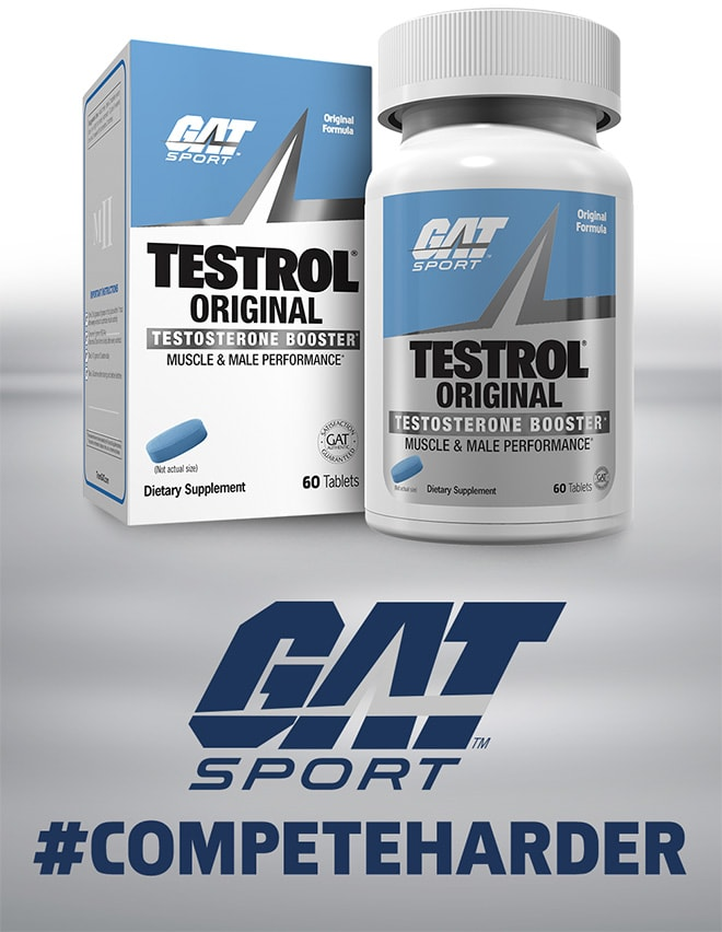 GAT Sport Testrol Original - #CompeteHarder