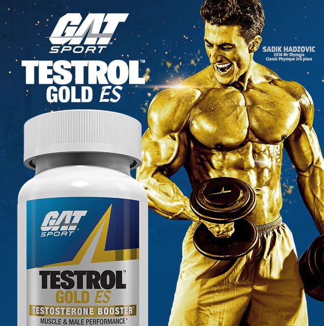 GAT Sport. Testrol Gold ES.