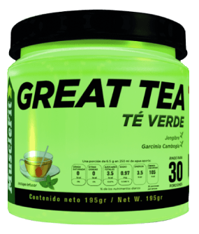 Great Tea, Té Verde por muscleFit