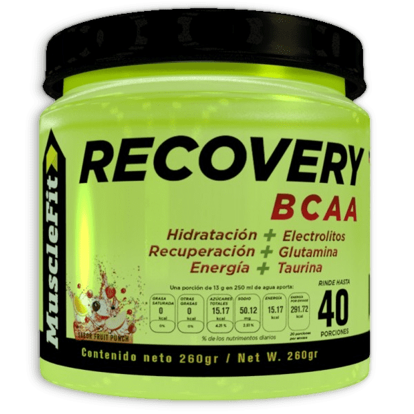 RECOVERY BCAA por MuscleFit