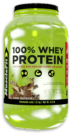 100% Whey Protein por MuscleFit