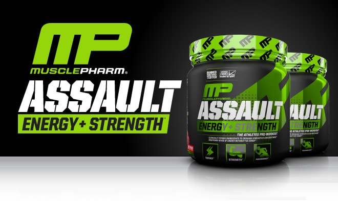 MusclePharm Assault. Energy + Strength.