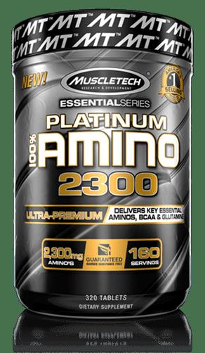 Platinum 100% Amino 2300 Bottle