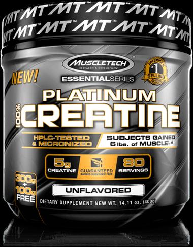 Platinum Creatine Container