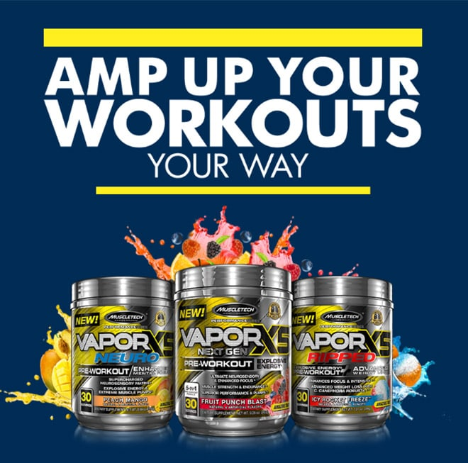 Amp Up Your Workouts Your Way