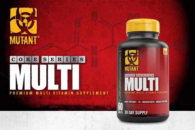 Mutant Core Series Multi. Premium Multi Supplement.