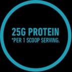 25G Protein per 1 Scoop Serving