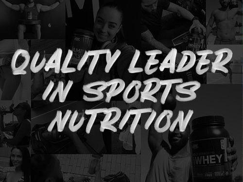 Lider en Calidad en Nutrición Deportiva
