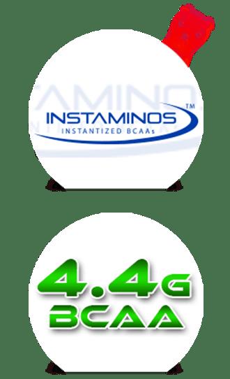 Instaaminos BCAAs instantáneos + 4.4g de BCAAs