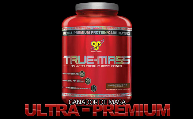 TRUE-MASS - Ultra-Premium Lean Mass Gainer